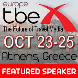 I'll Be Speaking at TBEX Athens with @TravelingEditor Dylan Lowe