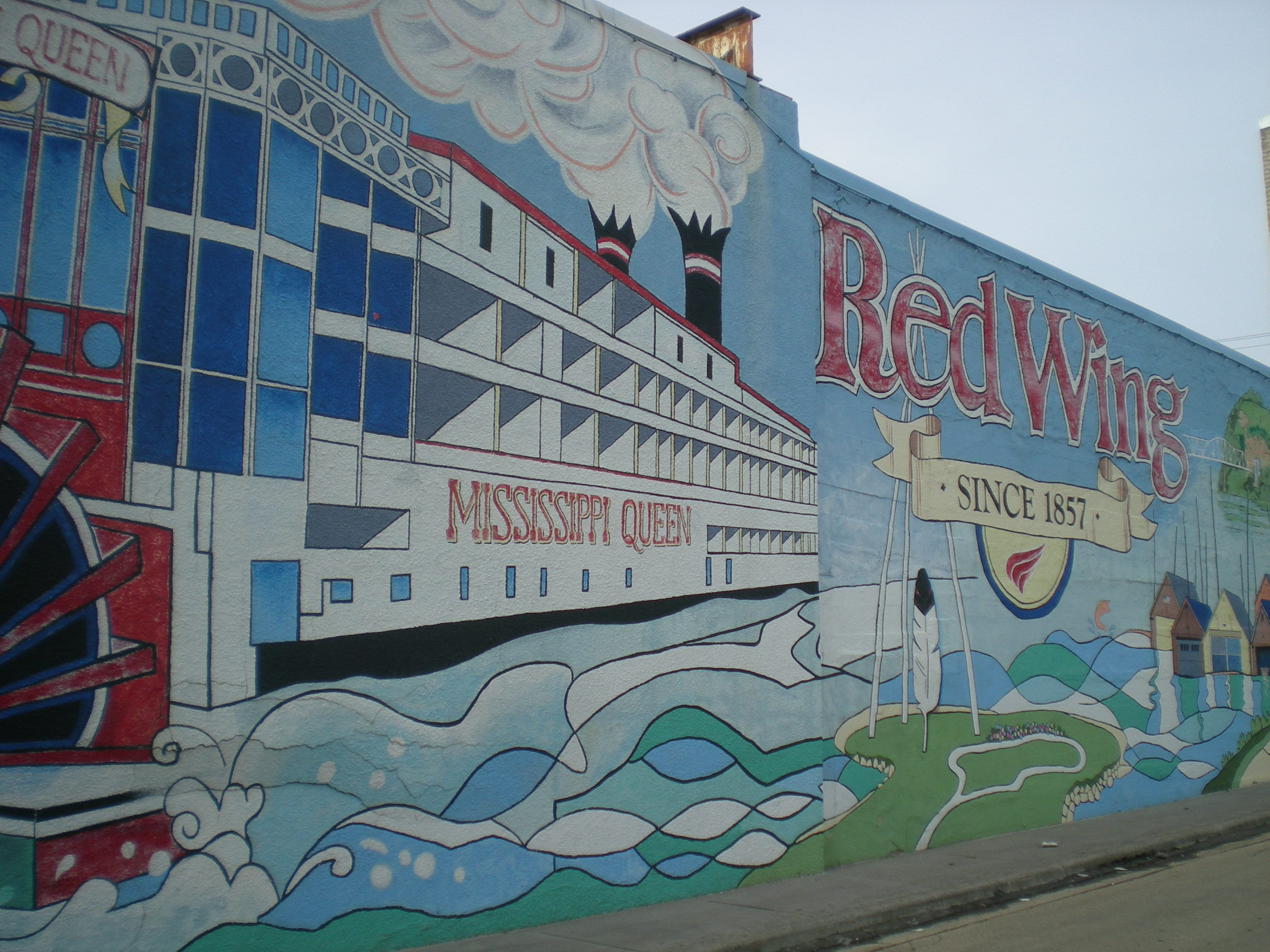 Downtown Red Wing mural