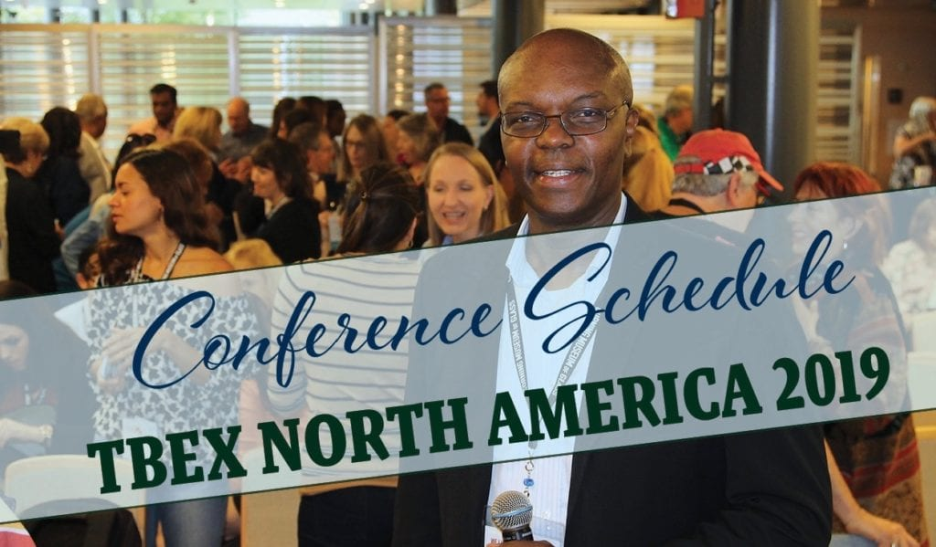TBEX North America 2019 Conference Schedule