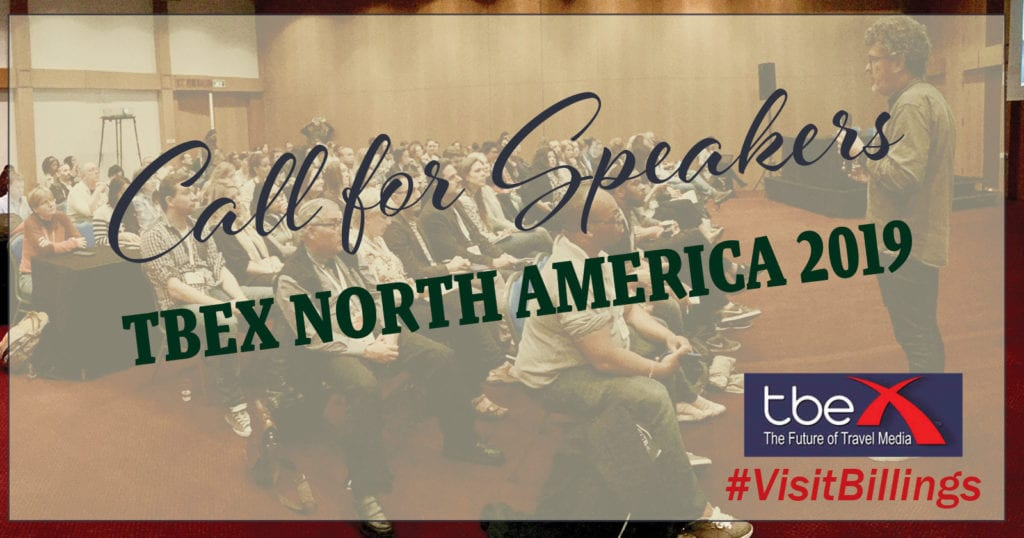 Call For Speakers, TBEX North America 2019