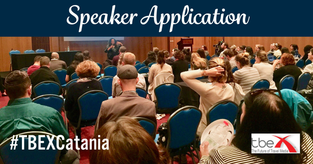TBEX EU 2020 Speaker Application