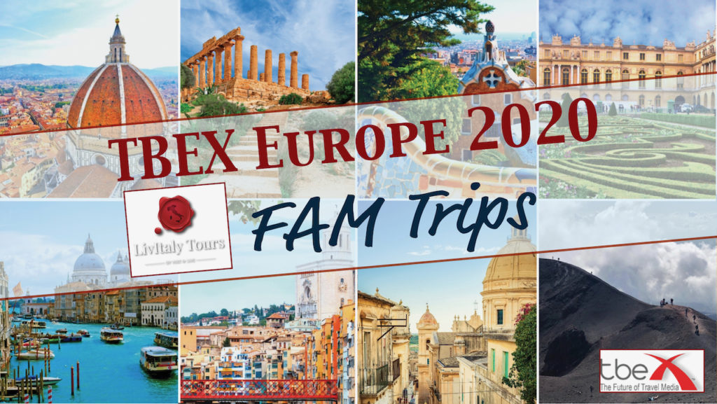 TBEX Europe 2020 Fam Trips from LivItaly