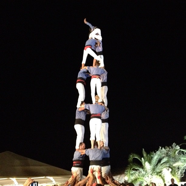 The Human Tower Featured at TBEX Opening Night Party