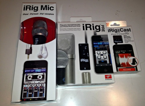 iRig Review: Options for Portable Podcasting