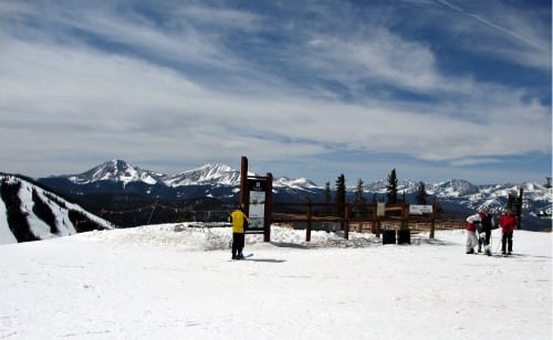 Top of mountain at Keystone Resort, Colorado, TBEX12