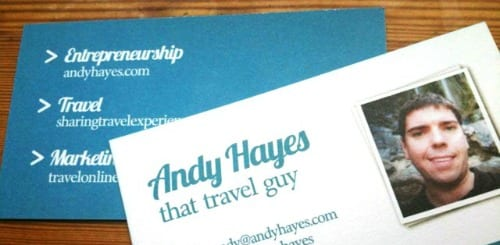 5 things not to say about your business cards at tbex tbex yes this really is my business card colourmoves