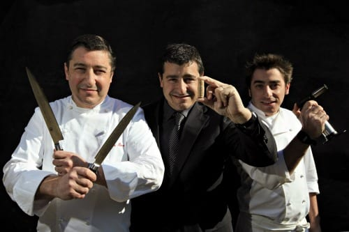 Roca Brothers of El Celler de can Roca, Girona, Spain