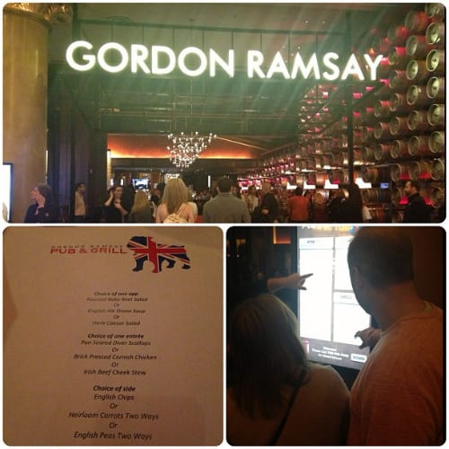 Gordon Ramsay Pub & Grill - photo by Jessica Spiegel