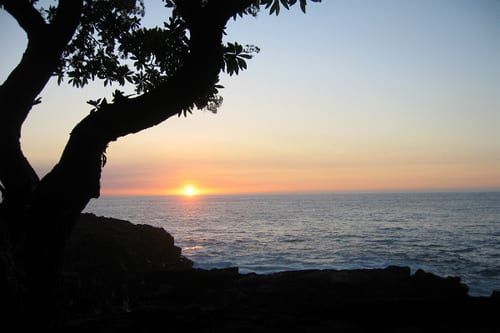 Sunset in Kona, Hawaii