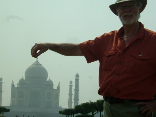 Alex Tilley in India
