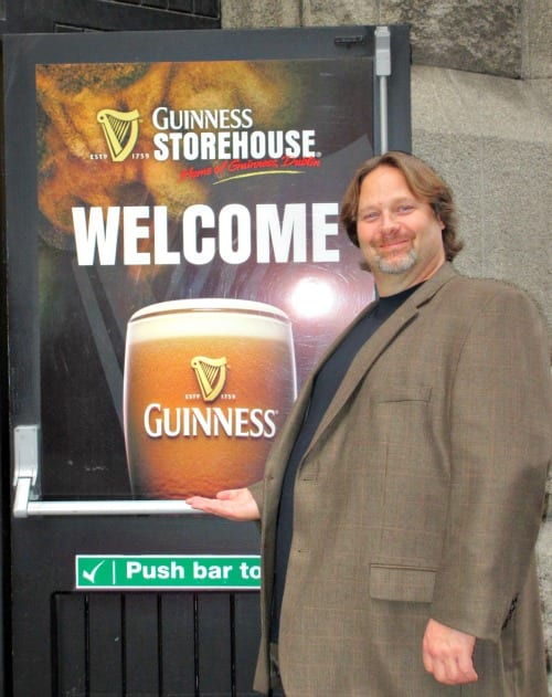 Rick at Guinness Storehouse