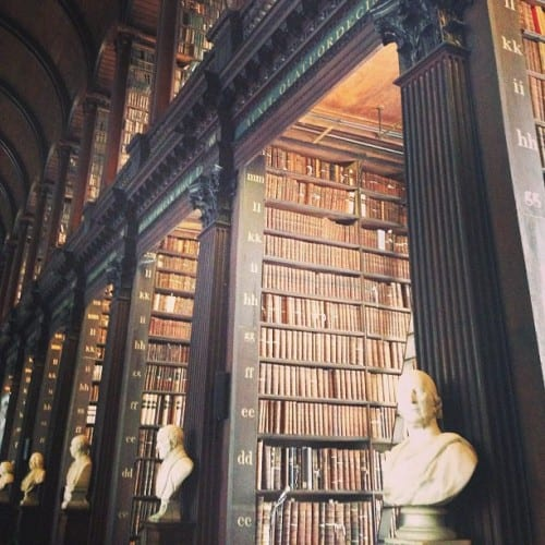 Old Library at Trinity College, Dublin (photo by Aaron Parecki)