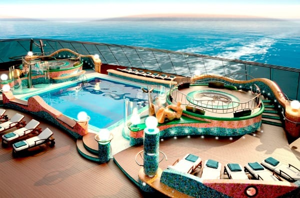 pool on MSC Fantasia