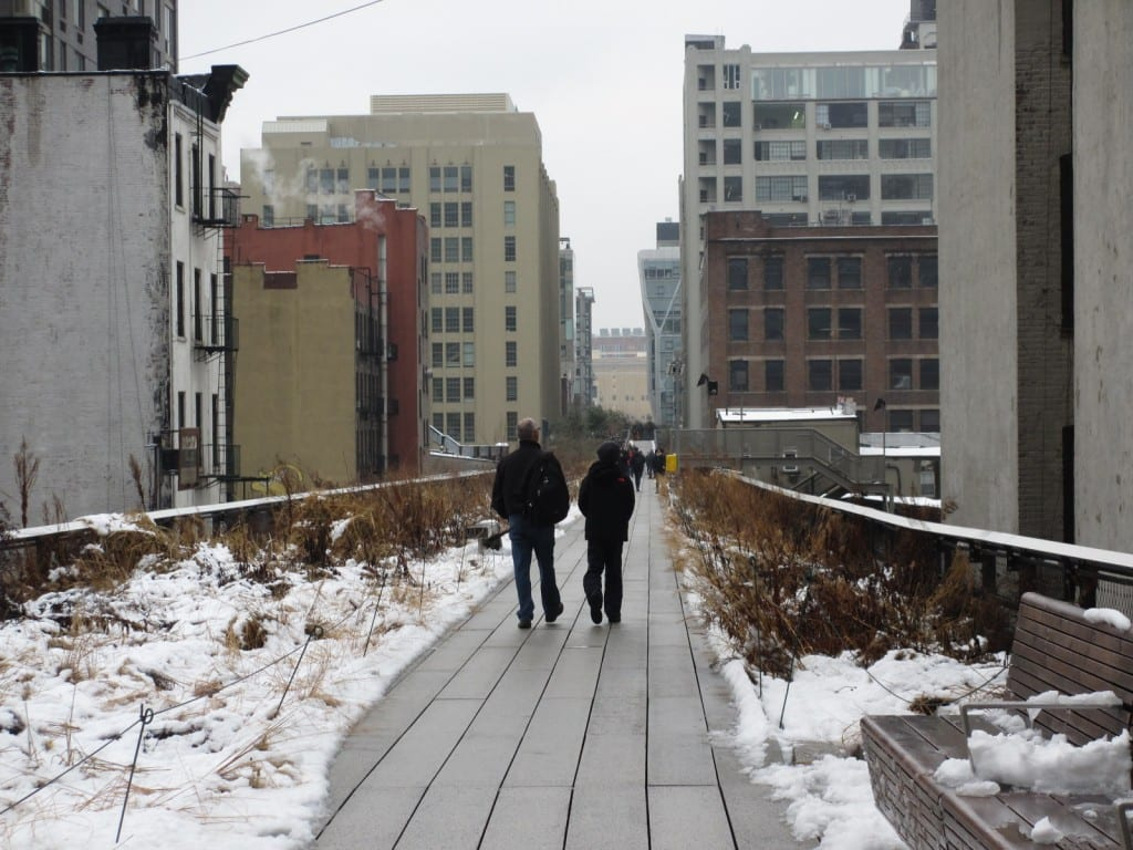 The Highline elevated Park is one of many reasons people choose to visit New York City