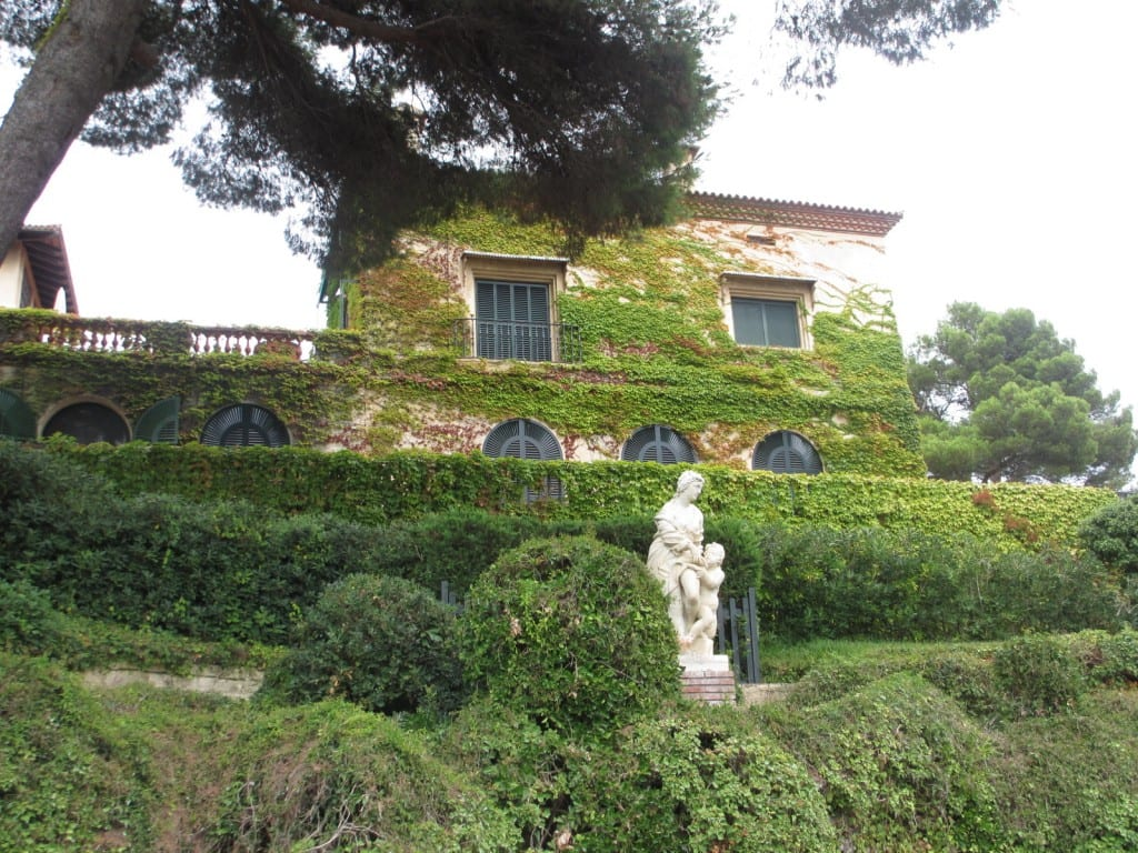 gardens in Lloret de Mar Spain