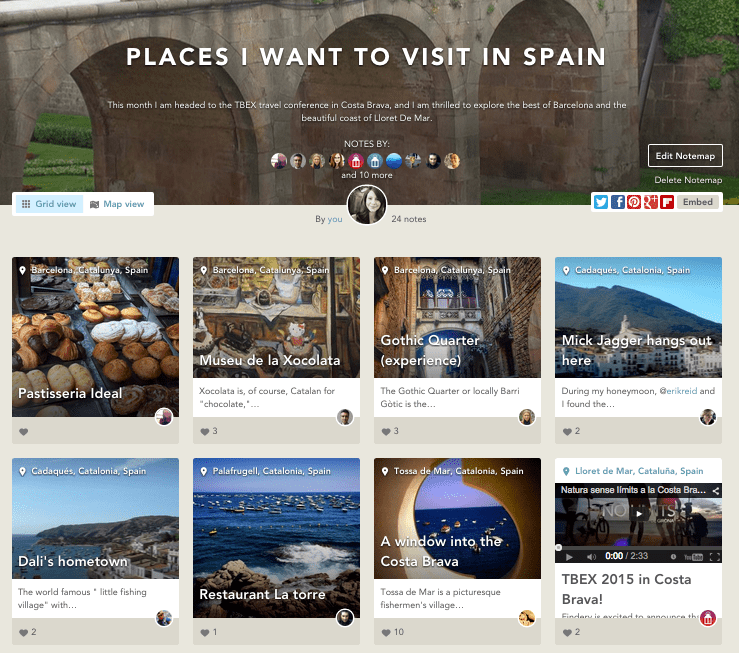 Findery - Places I Want To Visit In Spain (1)