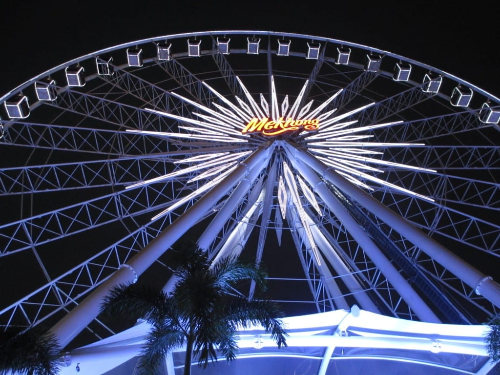 ferris wheel at Asiatique in Bangkok