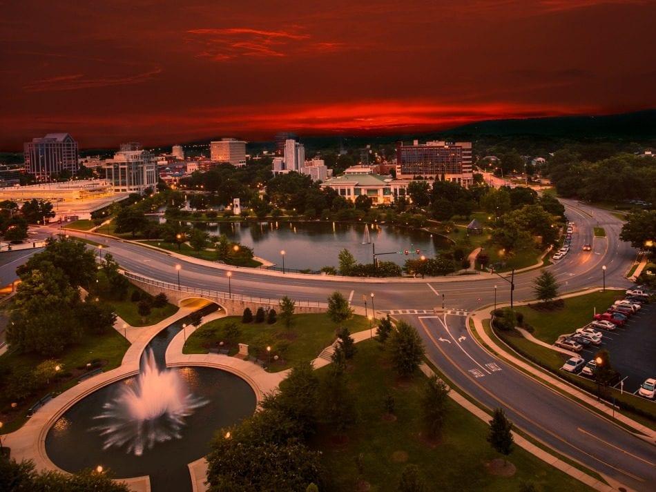 Downtown Huntsville, Huntsville reduced