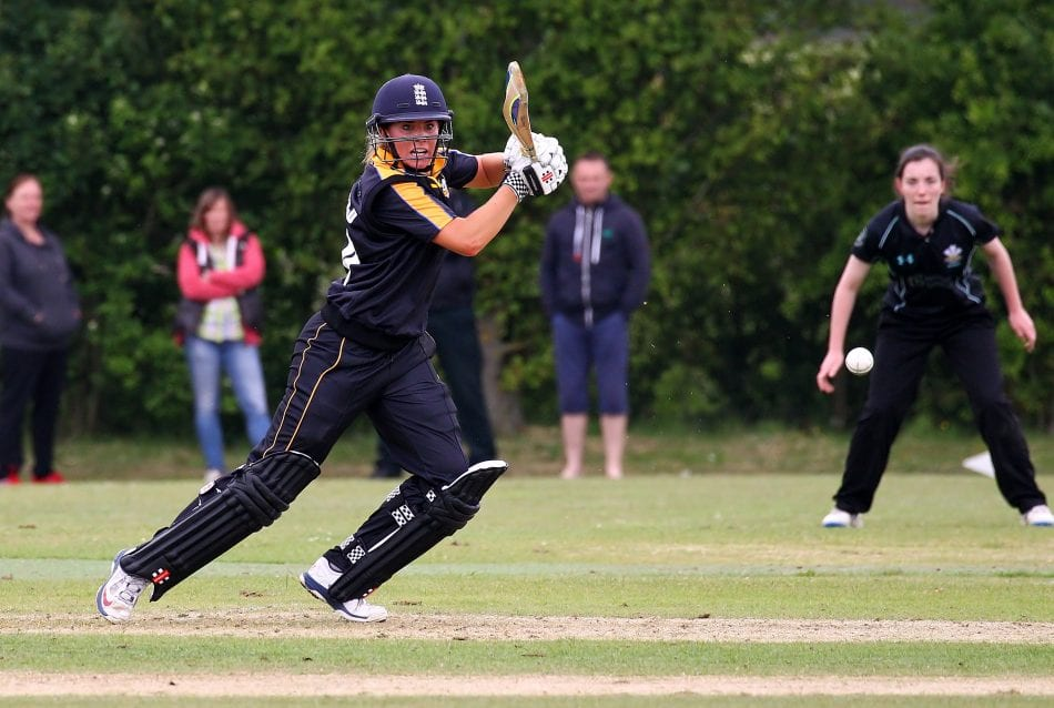 Cricketer Lauren Winfield-Yks