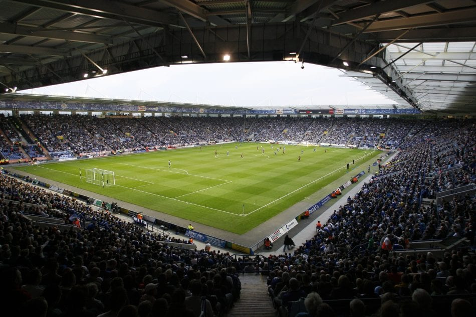 Inside the King Power Stadium - Home to Leicester City FC