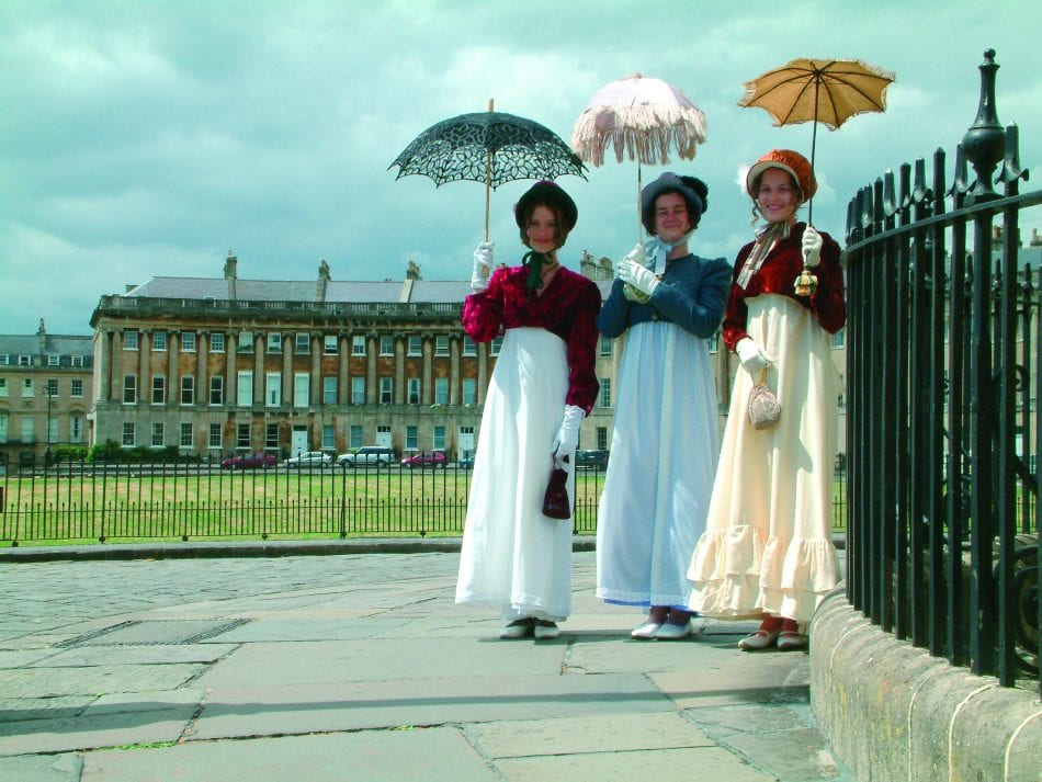 Jane Austen inspired walks in Bath