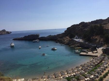 St Paul's Bay, Lindos Greece