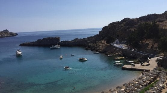 St Paul's Bay, Lindos Greece