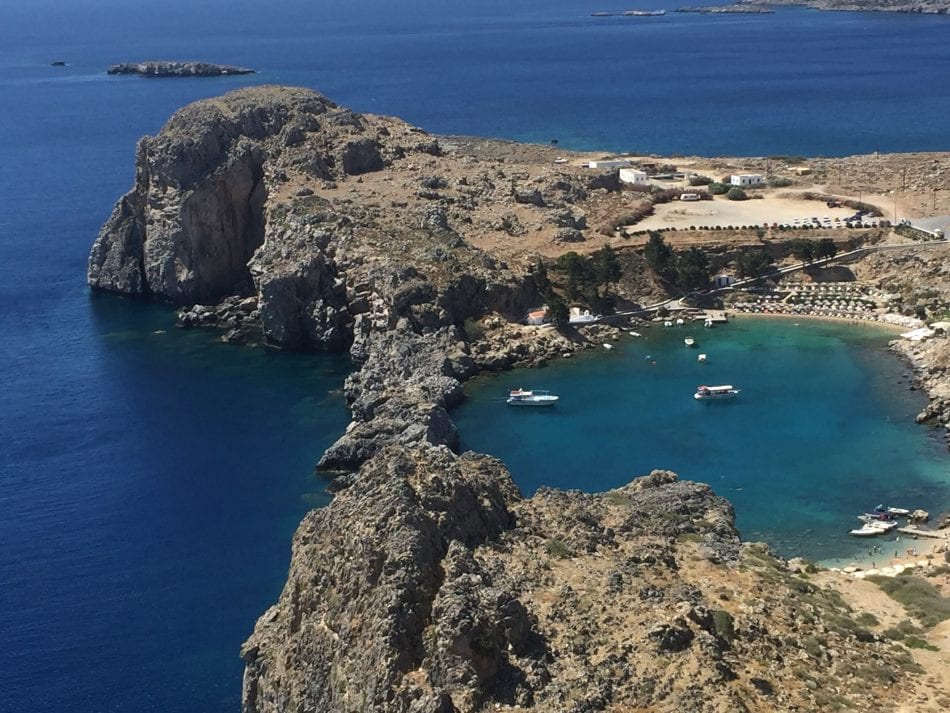 St Pauls Bay, Lindos Greece