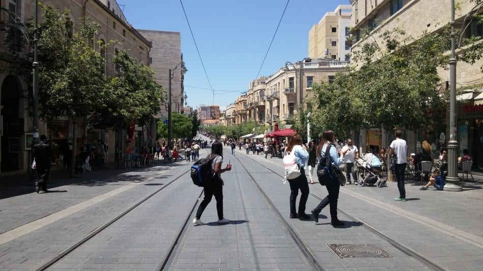 Yaffo - downtown Jerusalem