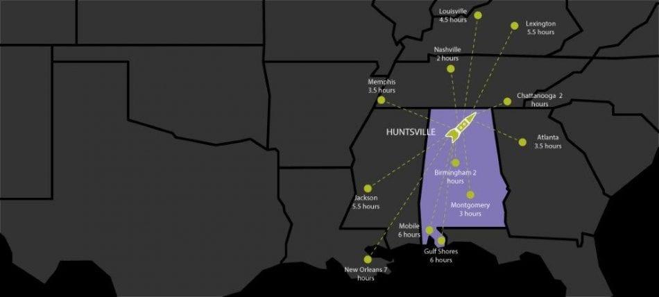 Smart Map-Huntsville, AL