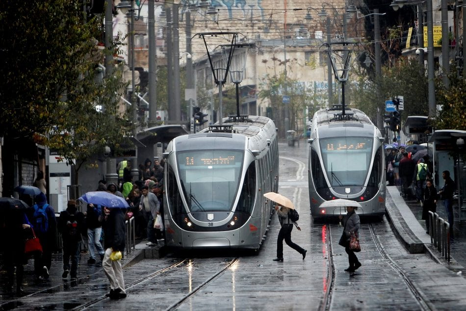 The Jerusalem Light Rail