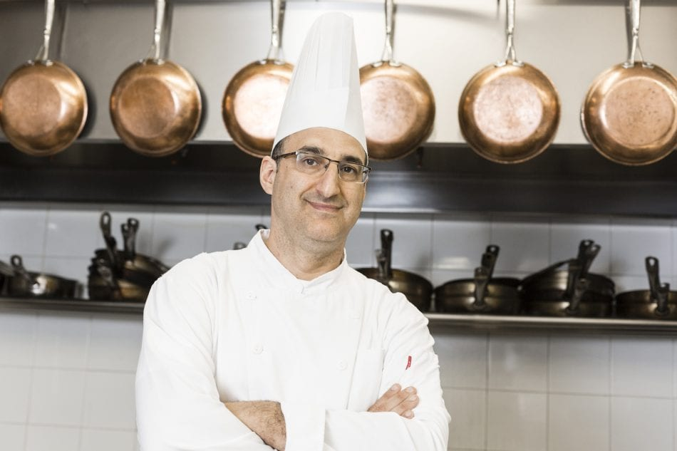 Chef Nir Elkayam of The Grill at Inbal Jerusalem Hotel