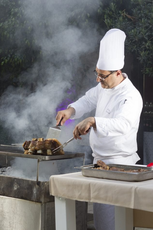 Chef Nir, the Grill at Inbal Hotel