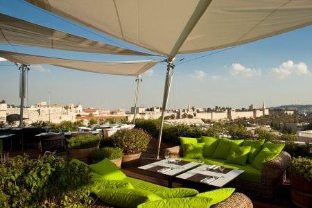 Rooftop Lounge at Mamilla Mall