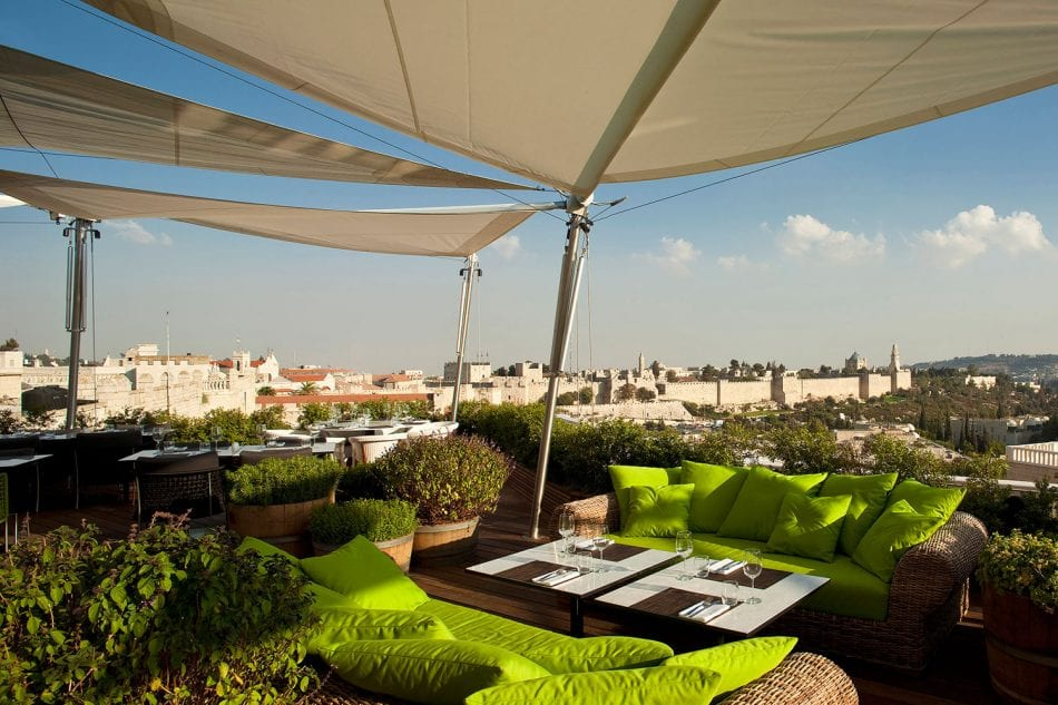 Rooftop Lounge at Mamilla Mall