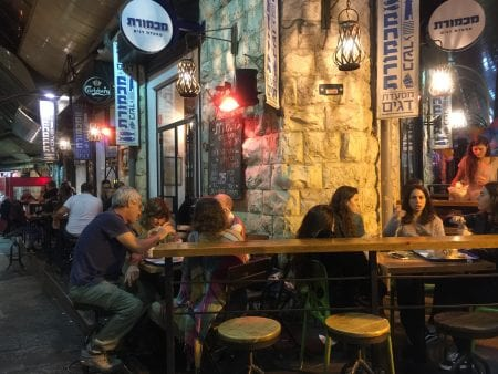Nightlife at Machane Yehuda, Jerusalem