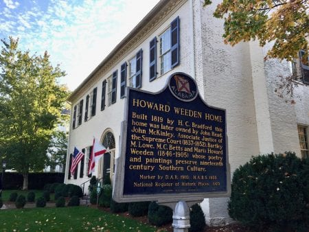 The Weeden House & Museum, Huntsville