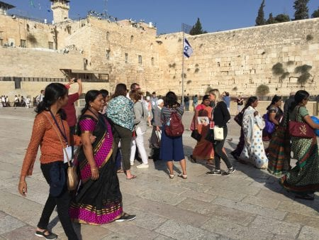 Visitors to Jerusalem