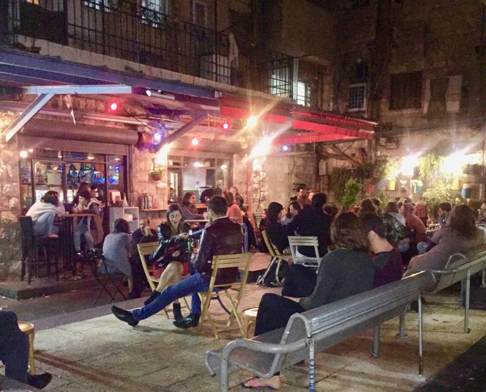 Nightlife in Jerusalem