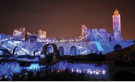 Jerusalem's Night Spectacular