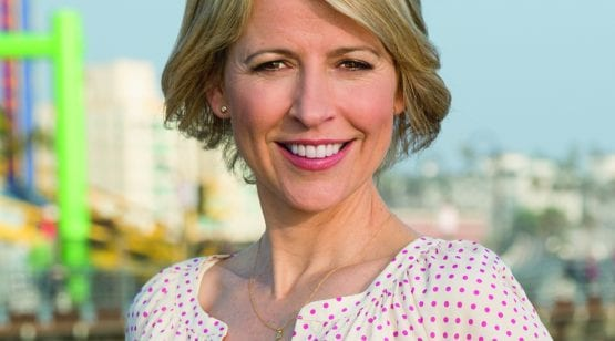 TV host Samantha Brown