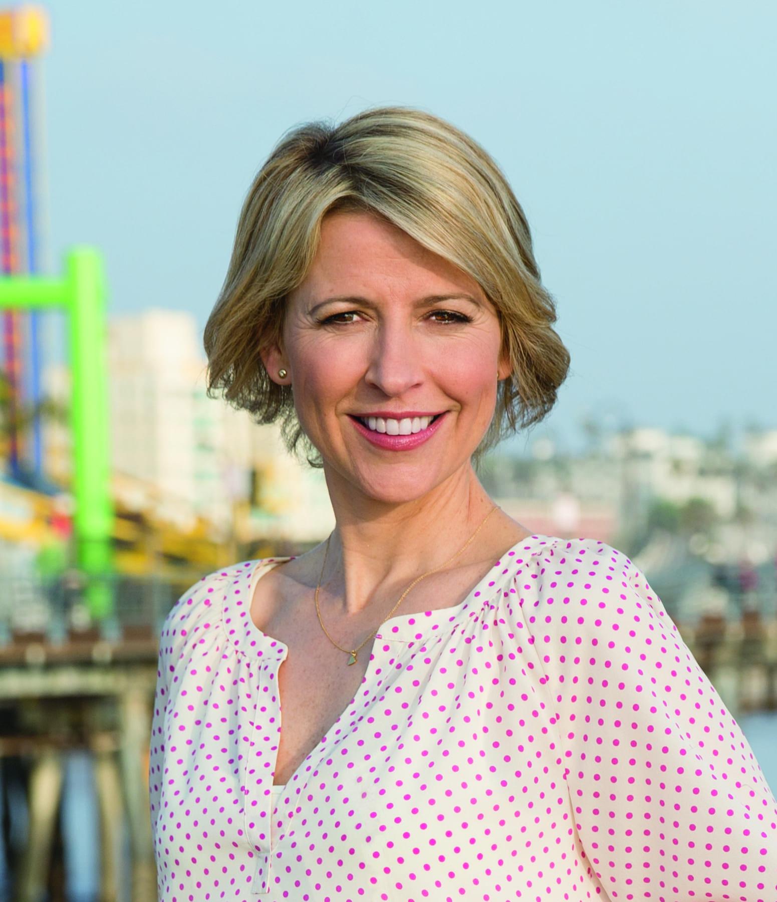 TV host Samantha Brown