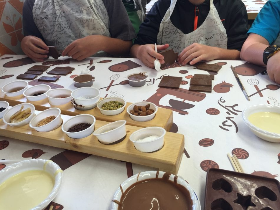 Galita Chocolate Workshop, Jerusalem