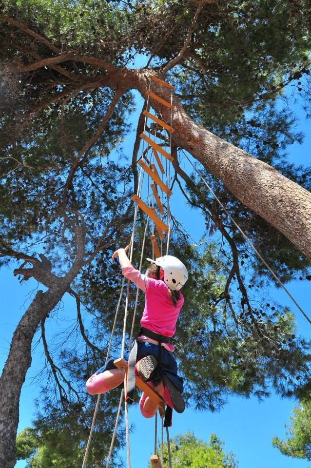 Rope Ladder at Ammunition Hill, Jerusalem