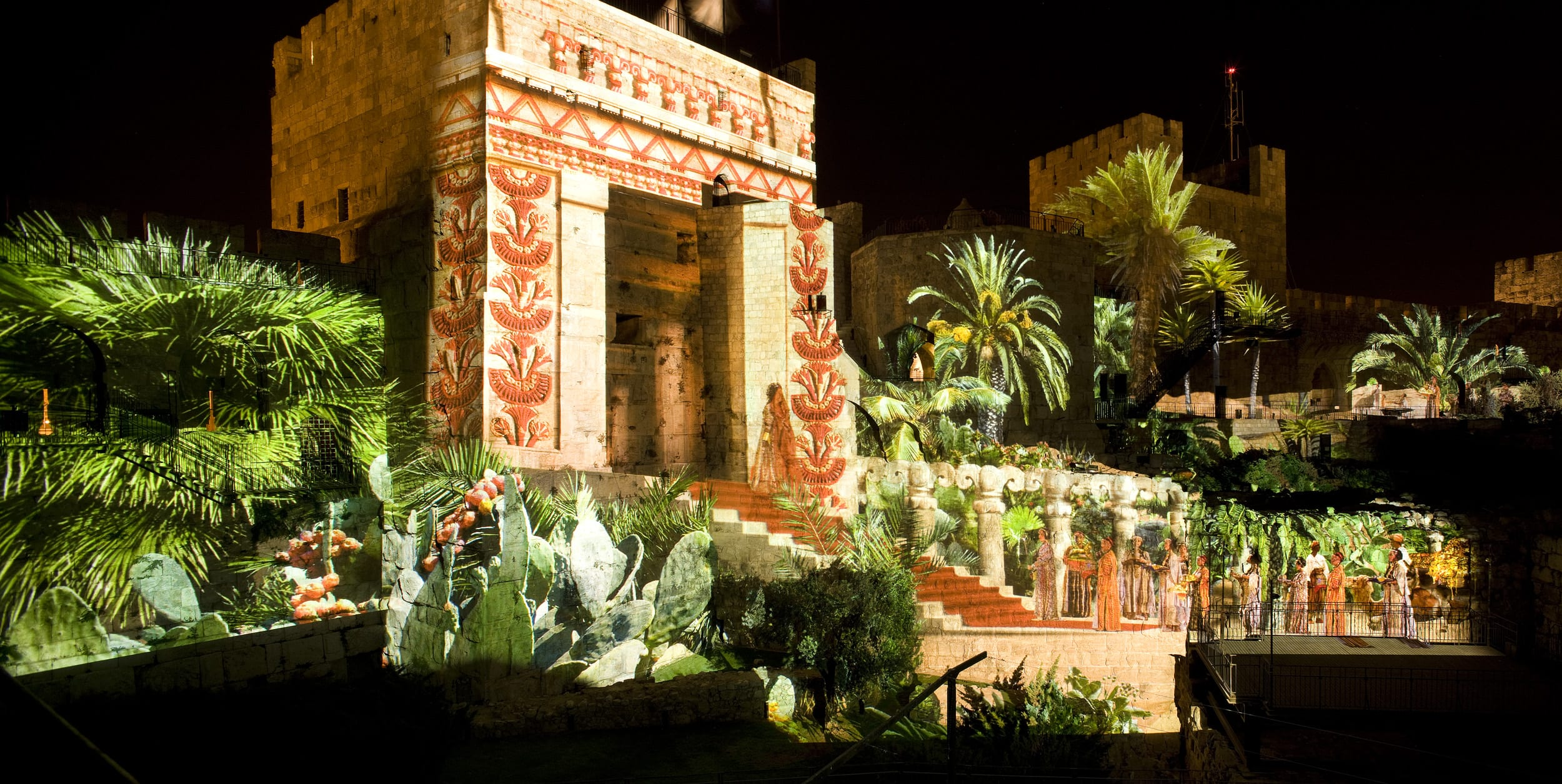 Jerusalem Night Spectacular, Tower of David Museum