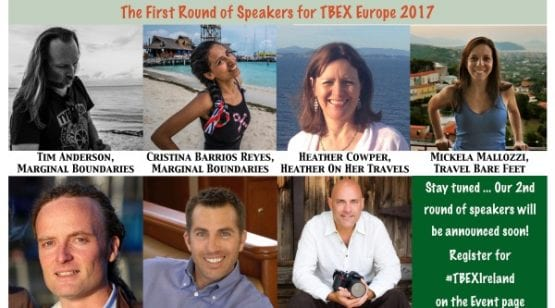 First Round of Speakers for #TBEXIreland