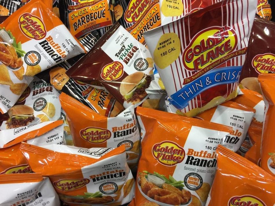 Golden Flakes Potato Chips
