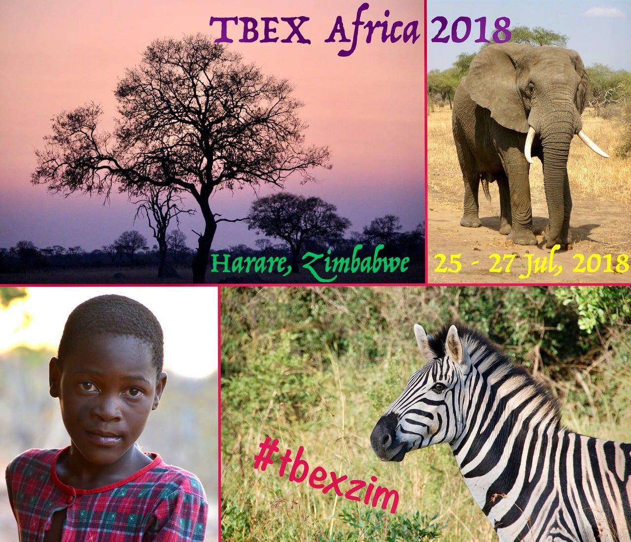 TBEX Africa 2018 in Harare, Zimbabwe