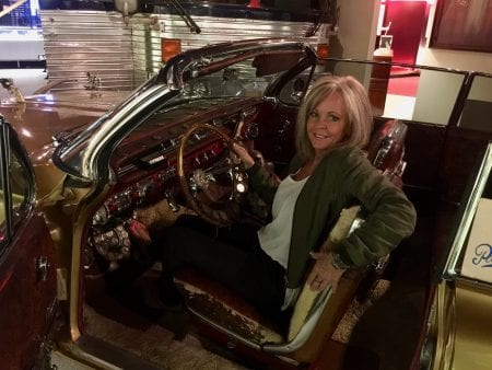 'Happy Hal' Burns convertible at Alabama Music Hall of Fame