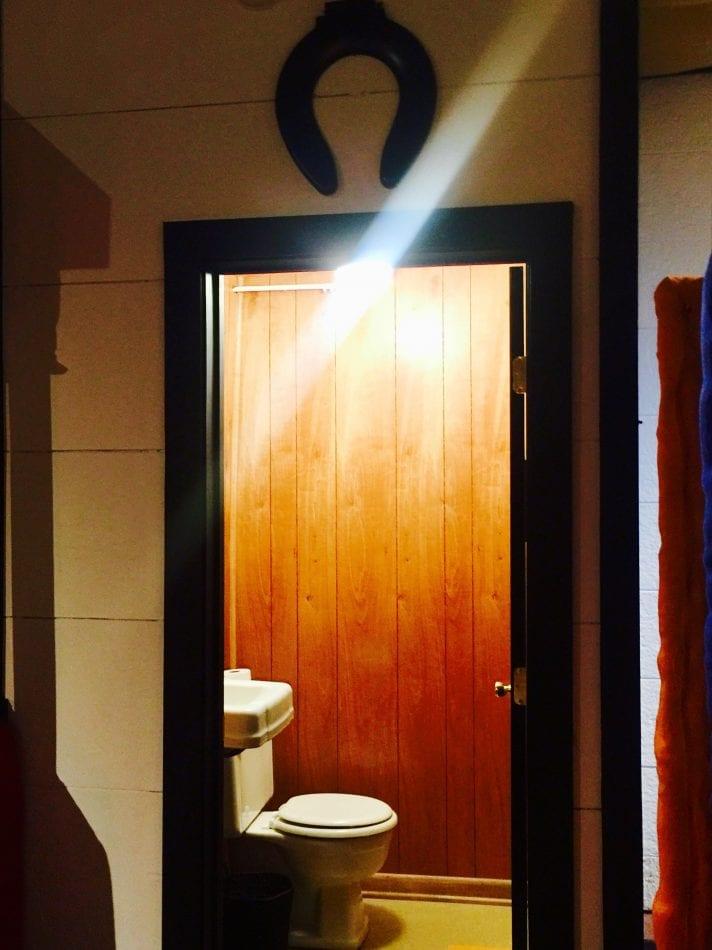 Bathroom at Muscle Shoals Sound Studios